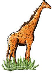 Freckled Giraffe by Vyano-Xiaah