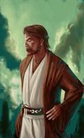 Obi wan study by defcombeta