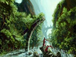Lost water way ruins by defcombeta