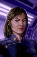 BSG Admiral Cain by defcombeta