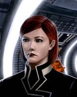 Commander J Shepard  ME2 by defcombeta
