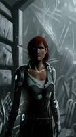 I am alive? Mass Effect by defcombeta