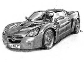 Opel Speedster by M-J-M-A