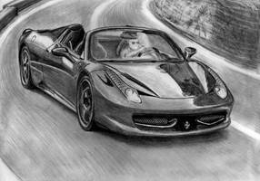 Ferrari F458 Italia Spider by M-J-M-A
