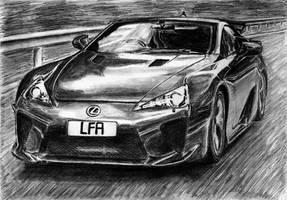 Lexus LFA by M-J-M-A
