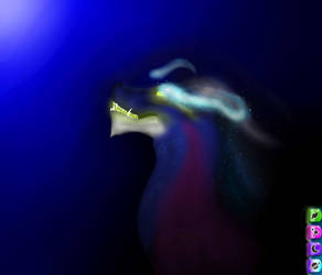 Dragon The Black Hole by ArtByDragonTrap
