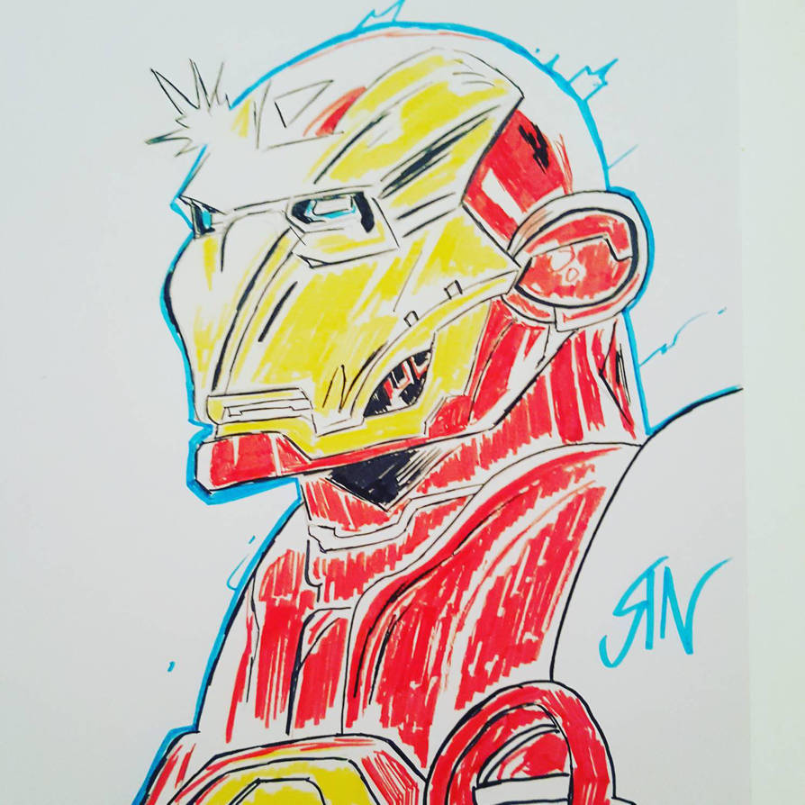 ironman by RixxComixx