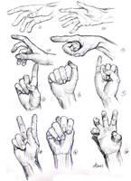 daily sketch  2098 by nosoart