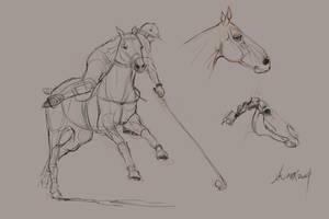 daily sketch  3338 by nosoart