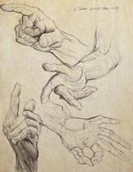daily sketch 3634 by nosoart