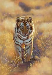 Golden Tiger PS by nosoart