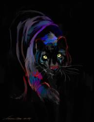 Khan the Black Leopard PS by nosoart