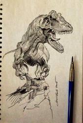daily sketch 3777 by nosoart