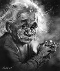 Einstein PS by nosoart