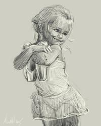daily sketch 4323 by nosoart