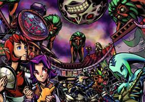 Zelda- Carnevale Temporis by Hakuramen