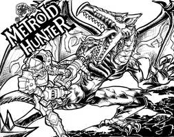 Metroid Hunter by Hakuramen