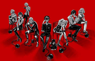 Persona 5- You Are Slave. by Hakuramen