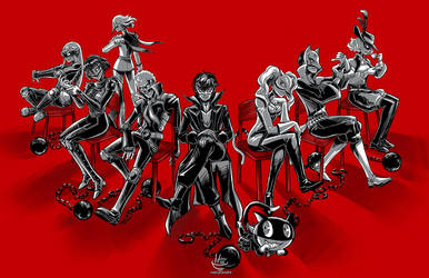 Persona 5- Want Emancipation? by Hakuramen