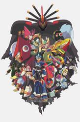 Mega Man X Command Mission by Hakuramen