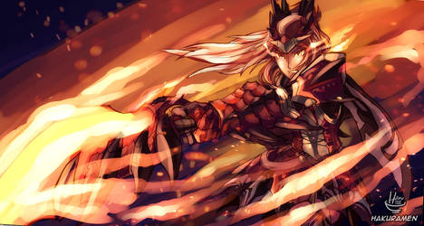 Dreadking Rathalos by Hakuramen