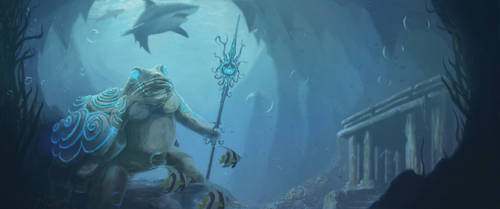 The Forgotten Guardian by ThamuzMartu