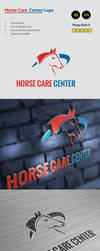 Horse Care Center Logo by mehrodesigns