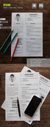 Resume by mehrodesigns