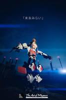 Danny Choo's Mirai Suenaga in Retrograde Suit by LadyAngelus