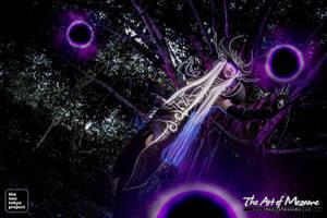 Syndra, the Dark Sovereign Cosplay by LadyAngelus