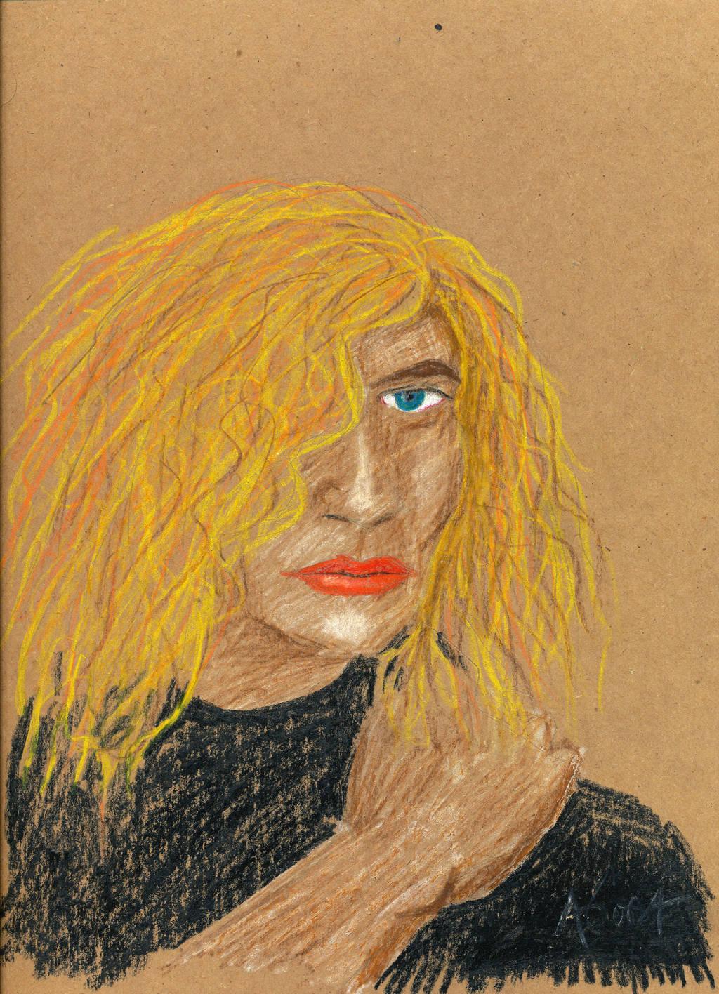 Portrait of a Woman by AgustinGoba