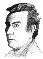 Albert Finney by AgustinGoba
