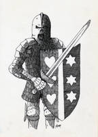 Knight of Hearts and Stars by AgustinGoba