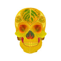Aspen Leaf Skull 7 by AgustinGoba