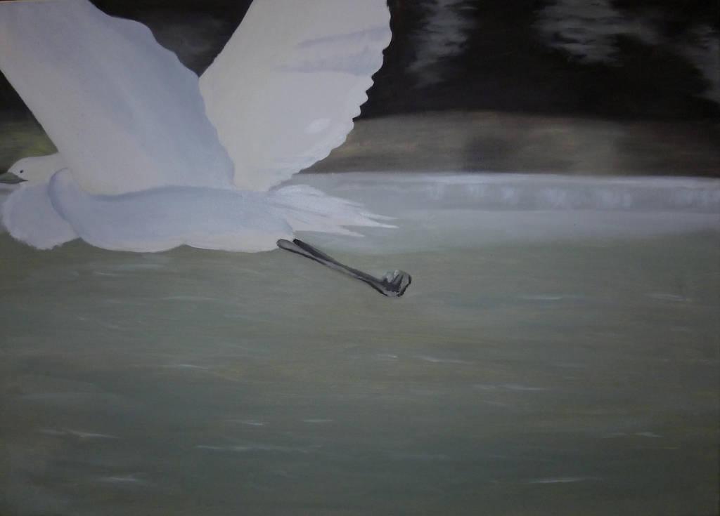 Crane by Yamilisa