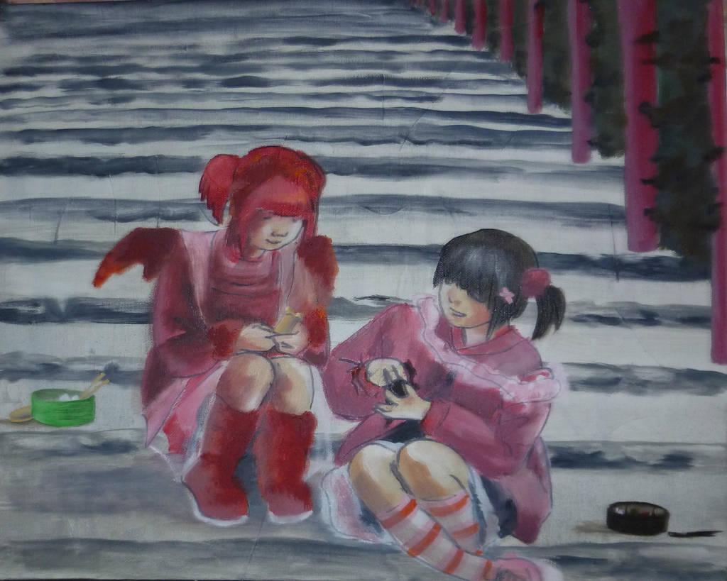 Japanese Youth by Yamilisa