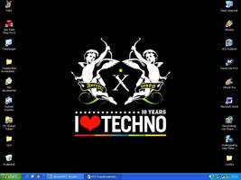 I love Techno by Yamilisa