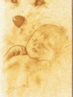 Snoozing baby by Yamilisa