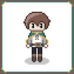 [Konosuba] Kazuma Pixel Art by DigiSolstice