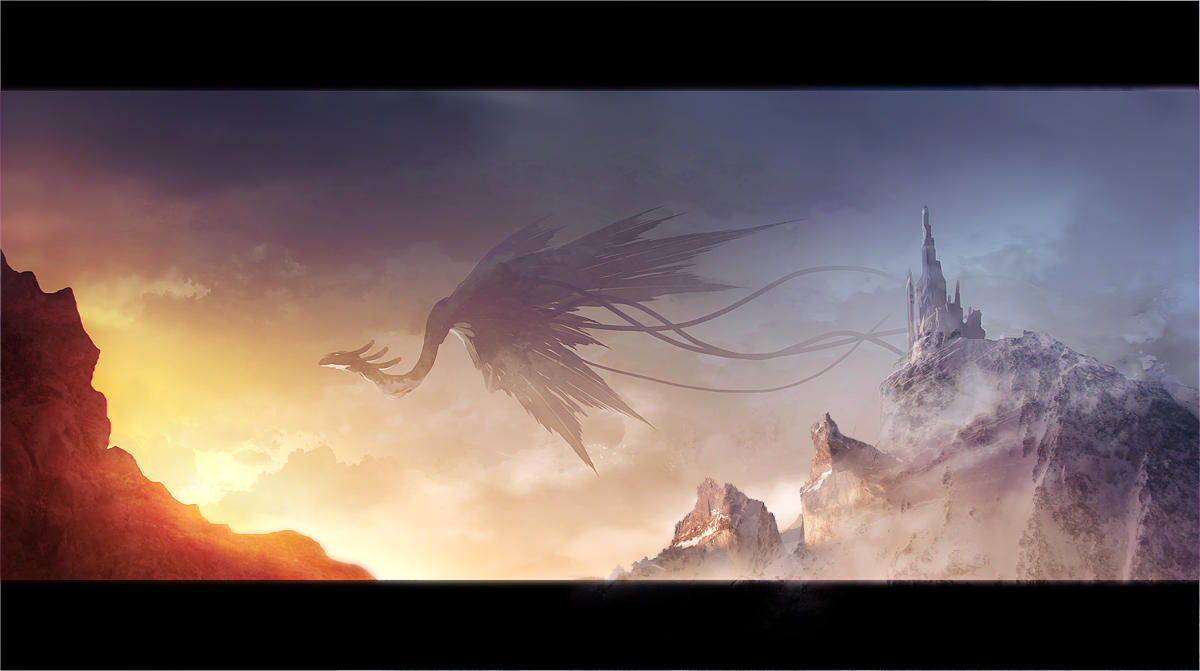 dragon speedpainting by regnar3712