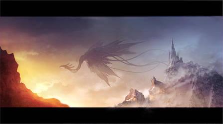 dragon speedpainting by regnar3712