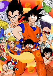 Dragon Ball Poster by Johnny12575