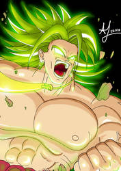 Broly, the Legendary Super Saiyan by Johnny12575