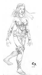 Random Sketches III by CMReis