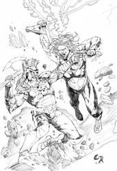 Random Sketches IV by CMReis