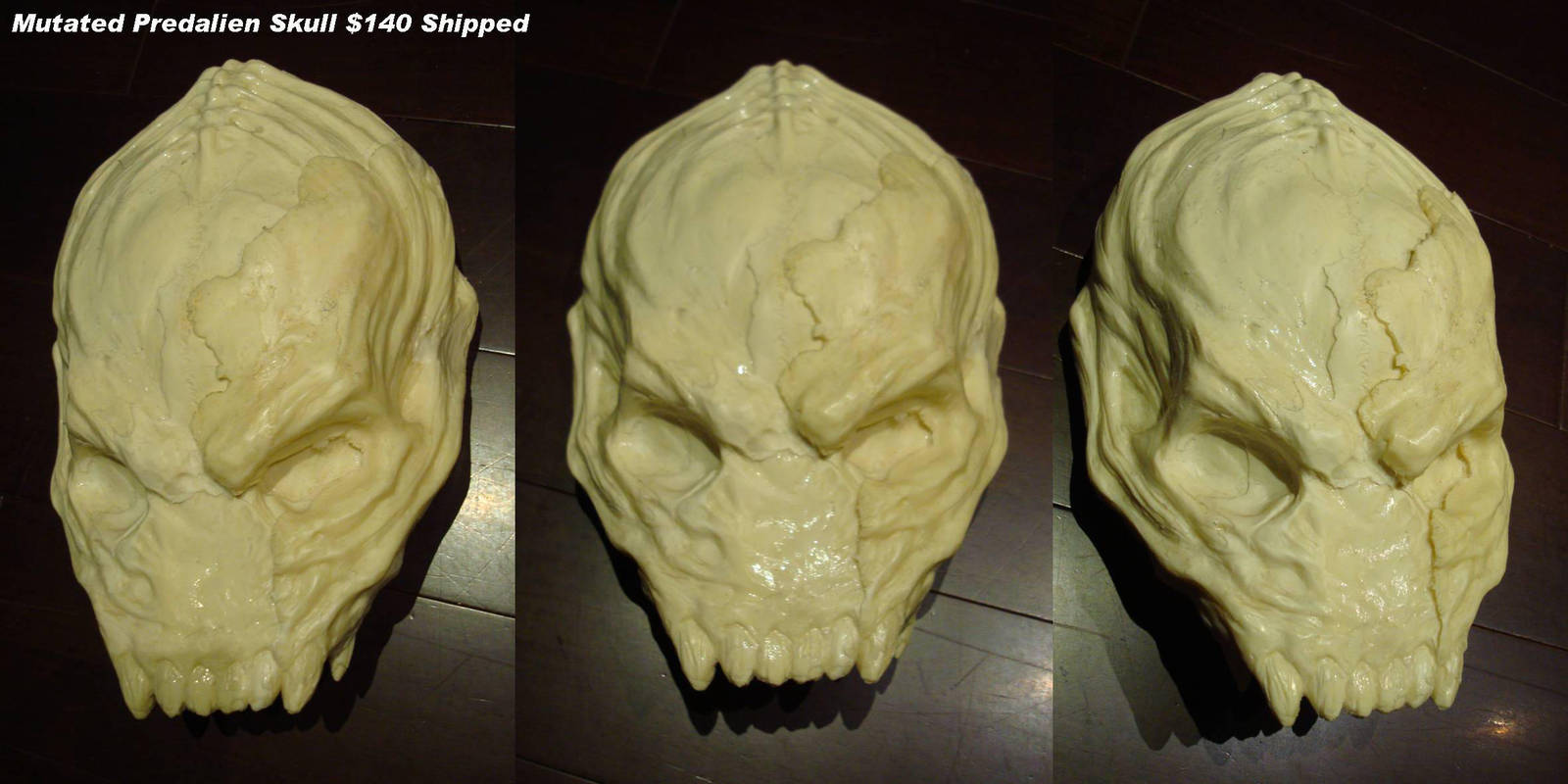 Mutant predalien skull by uratz studios on deviantart - Uratz studios ...
