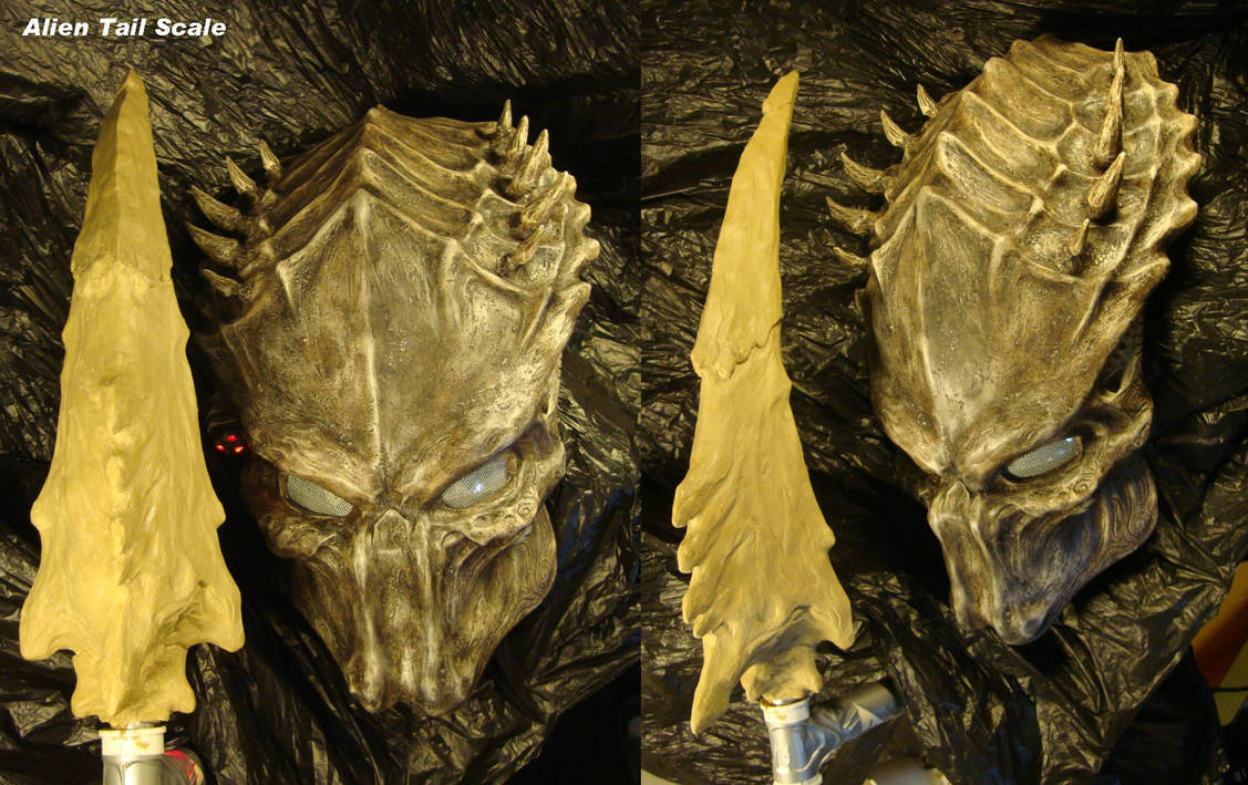 Alien tail scale by uratz studios on deviantart - Uratz studios ...
