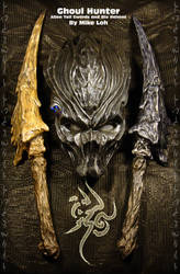 Ghoul Hunter Poster 1 by Uratz-Studios