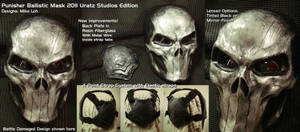 2011 Punisher Battle Dmg Mask by Uratz-Studios