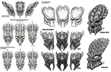 Bio Helmet Design Poll Vote now by Uratz-Studios